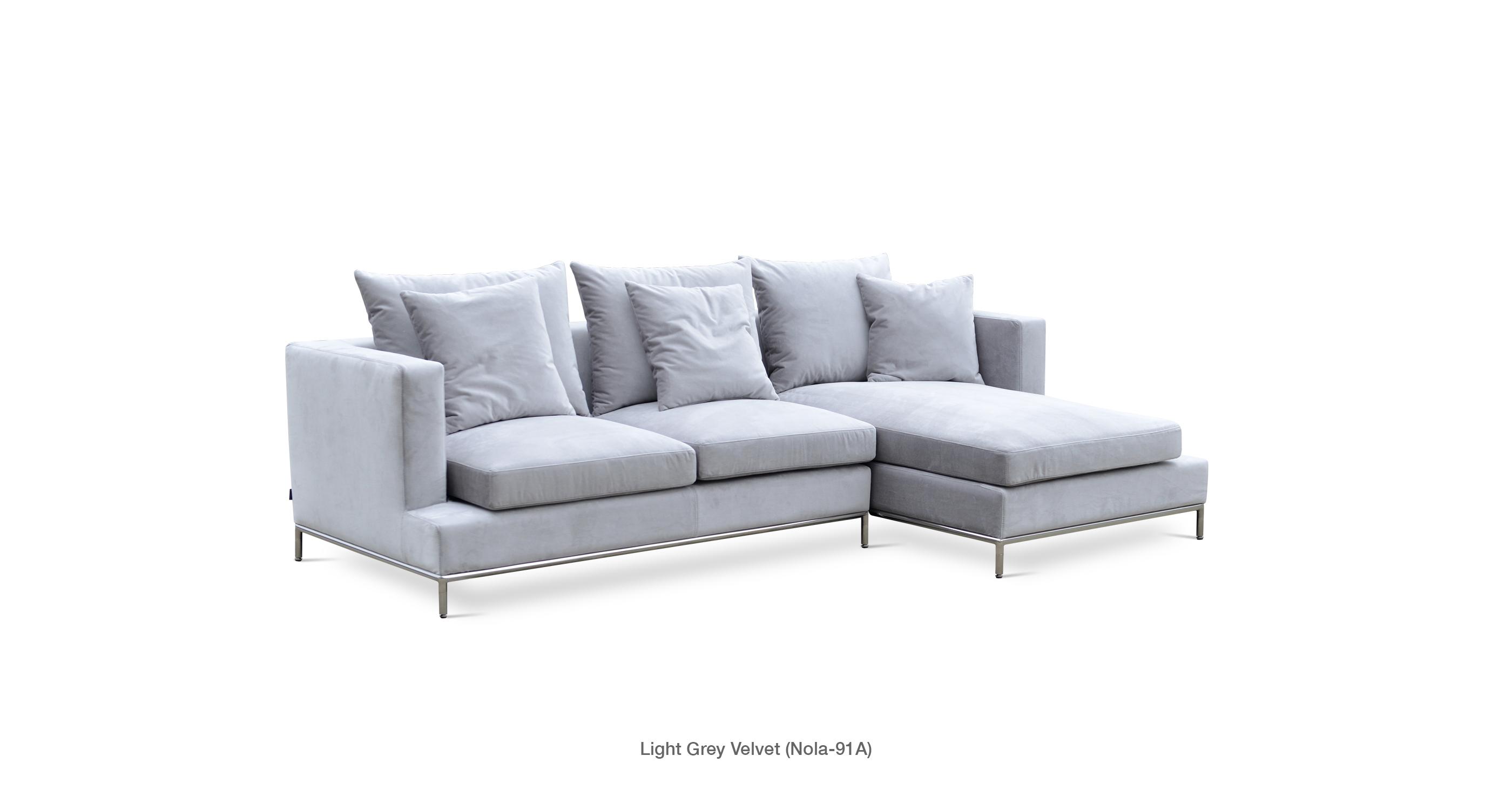 Simena Condo Contemporary Sectional Sofa