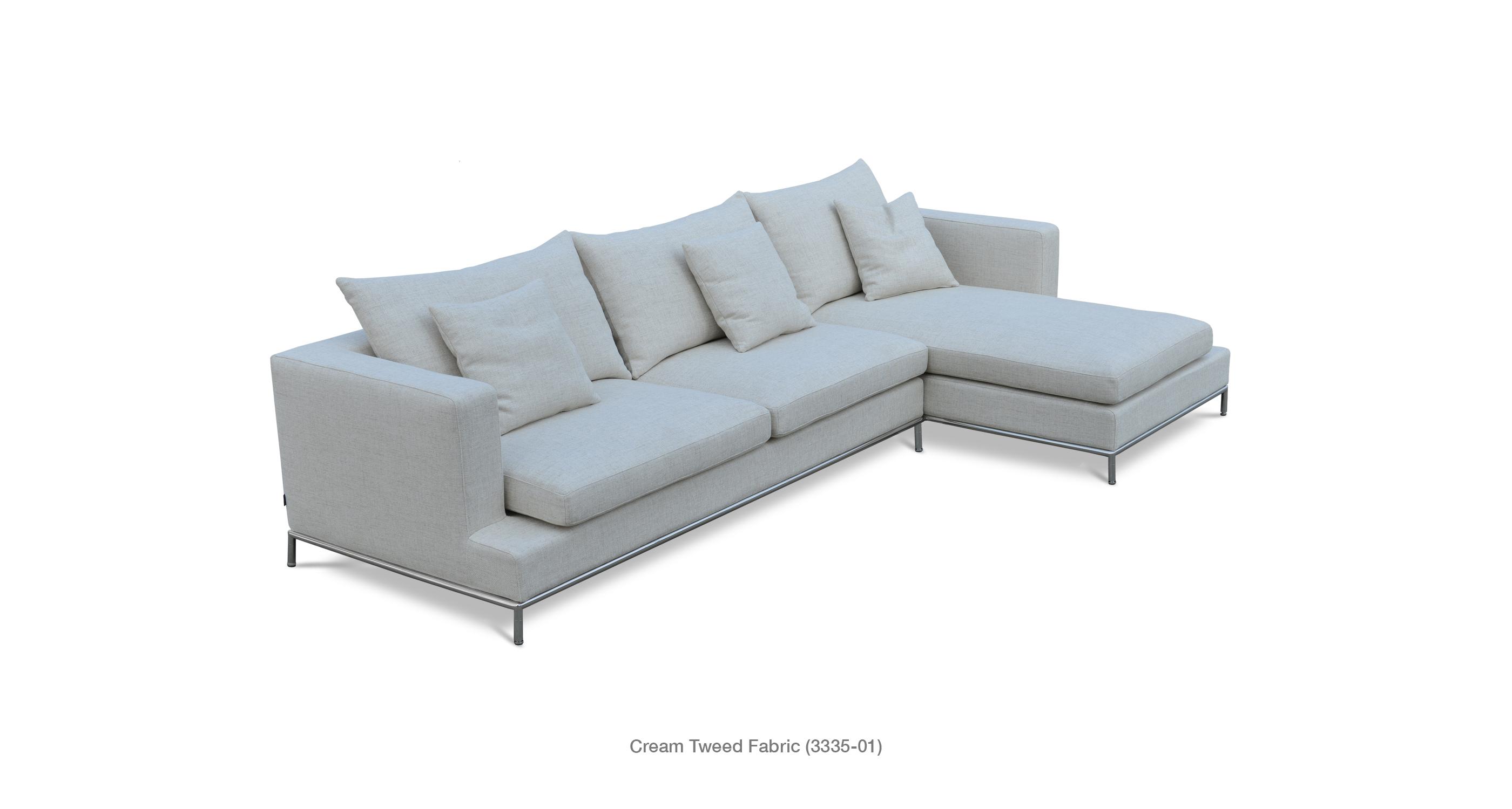 Simena Contemporary Sectional Sofas