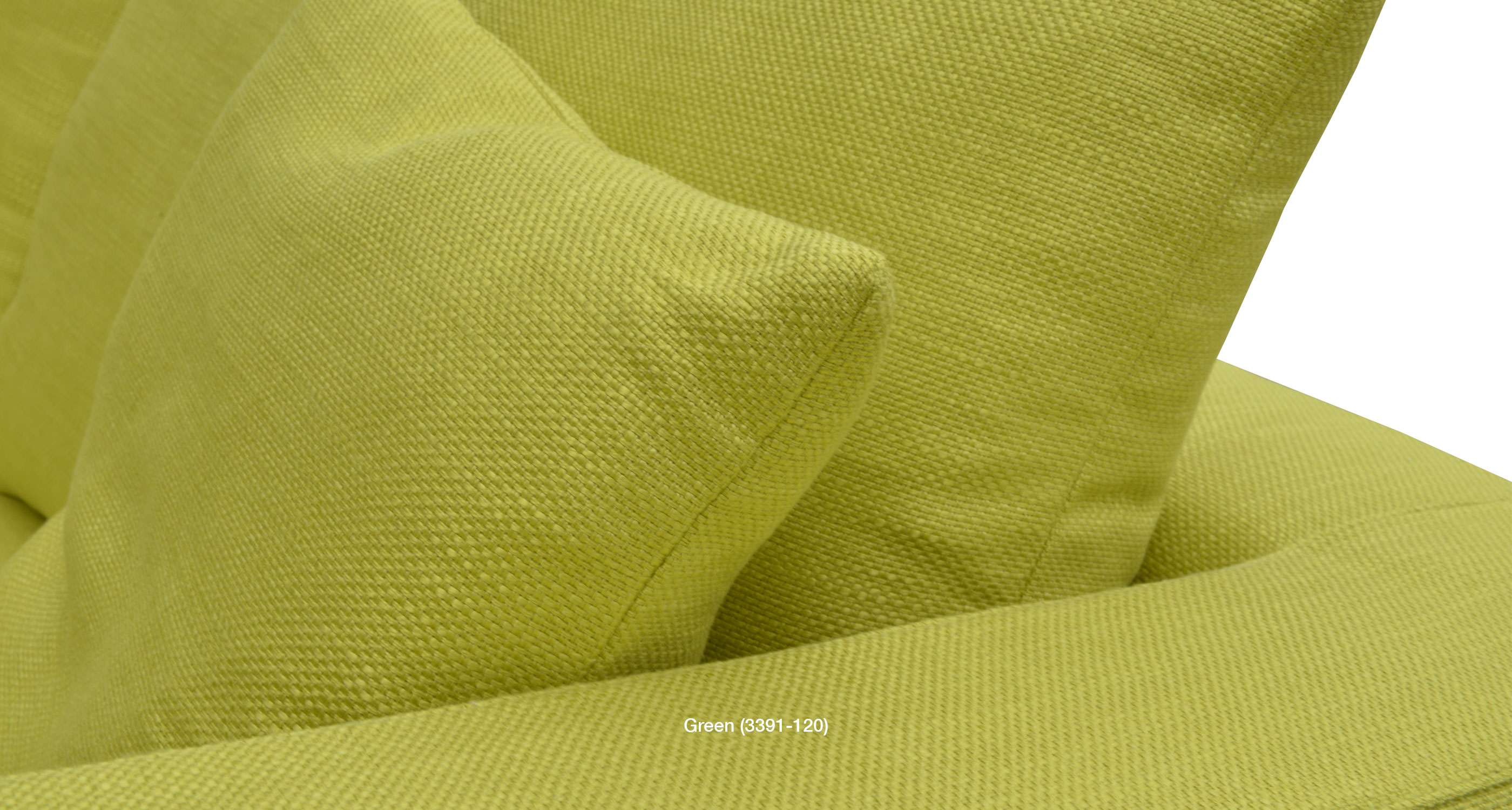 green fabric close up
