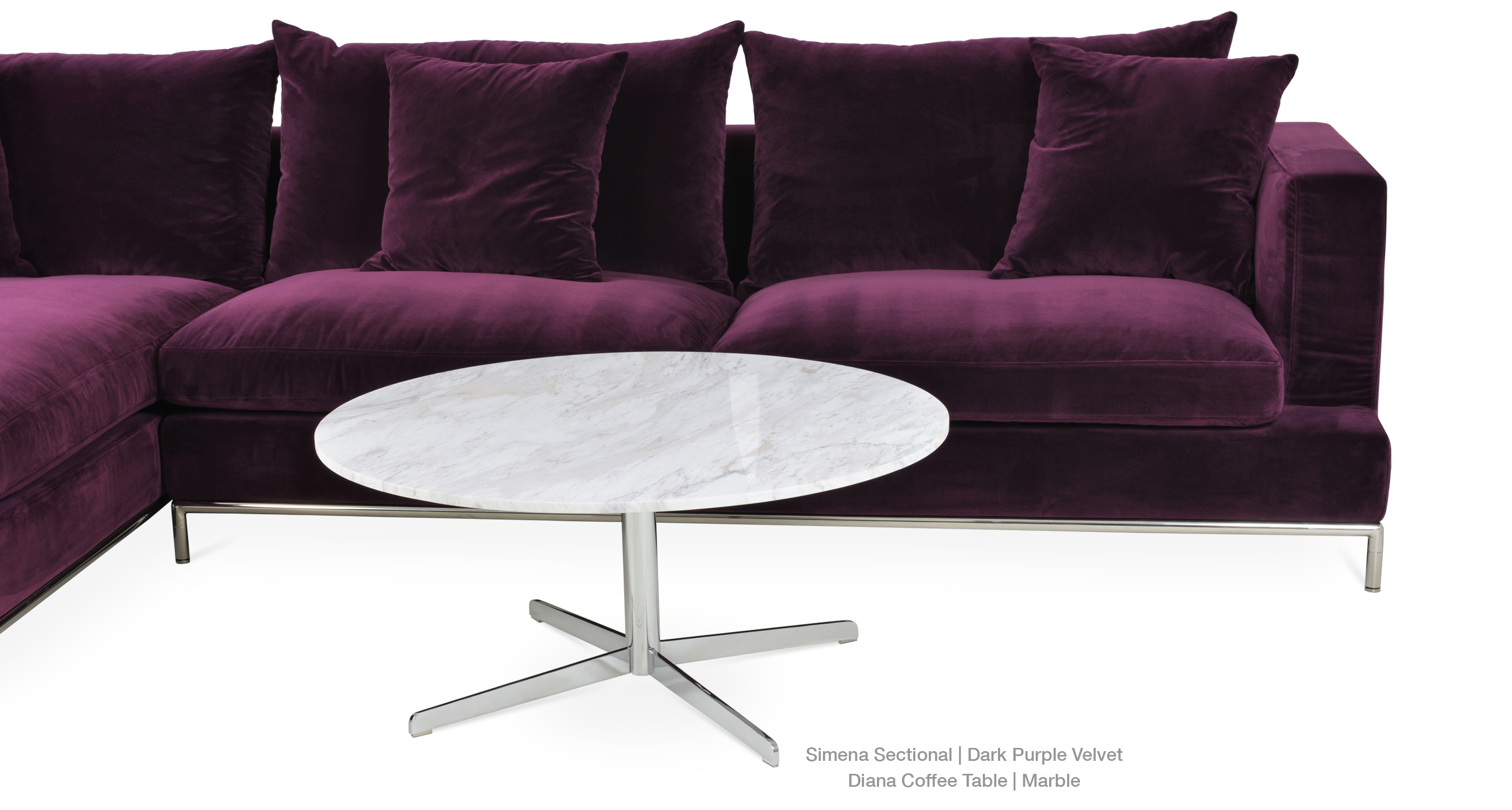 Simena | Contemporary Sectional Sofas | sohoConcept