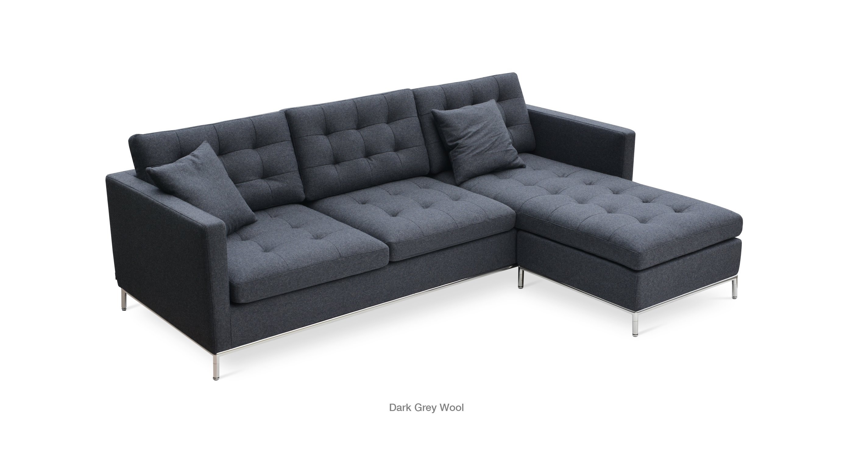 Taxim Sectional dark Grey