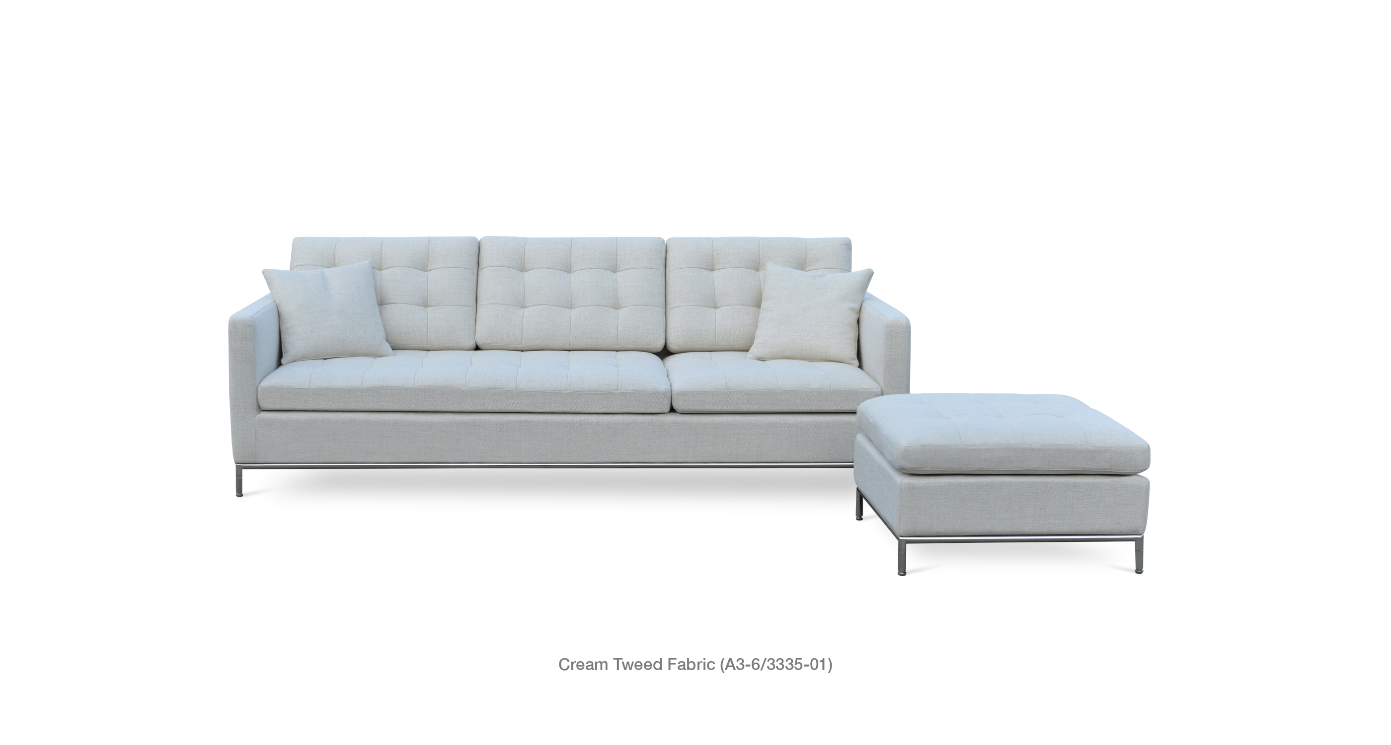 Taxim Sofa Cream Tweed