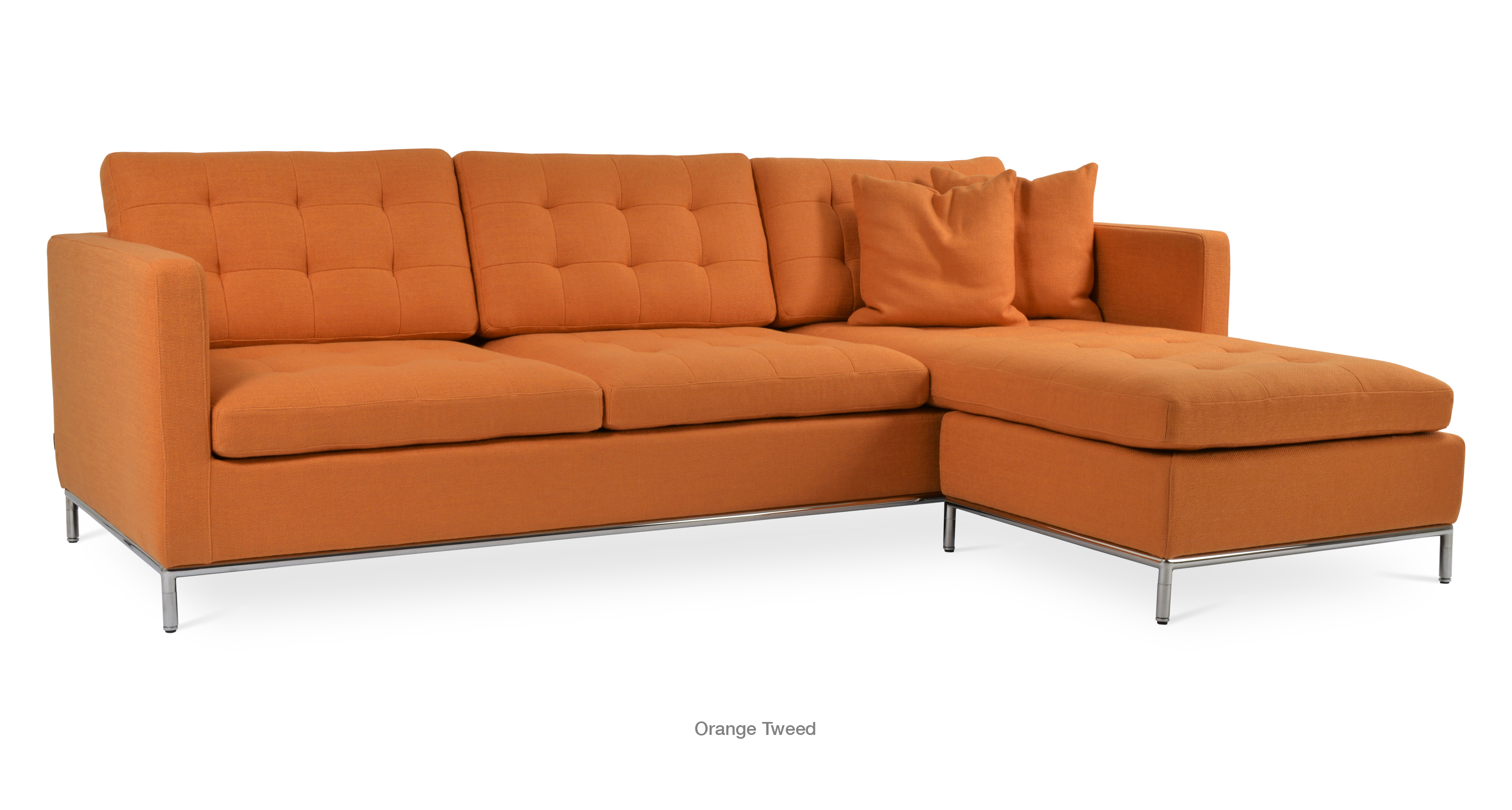 sectional blog of the dimensions sofas for what orange are