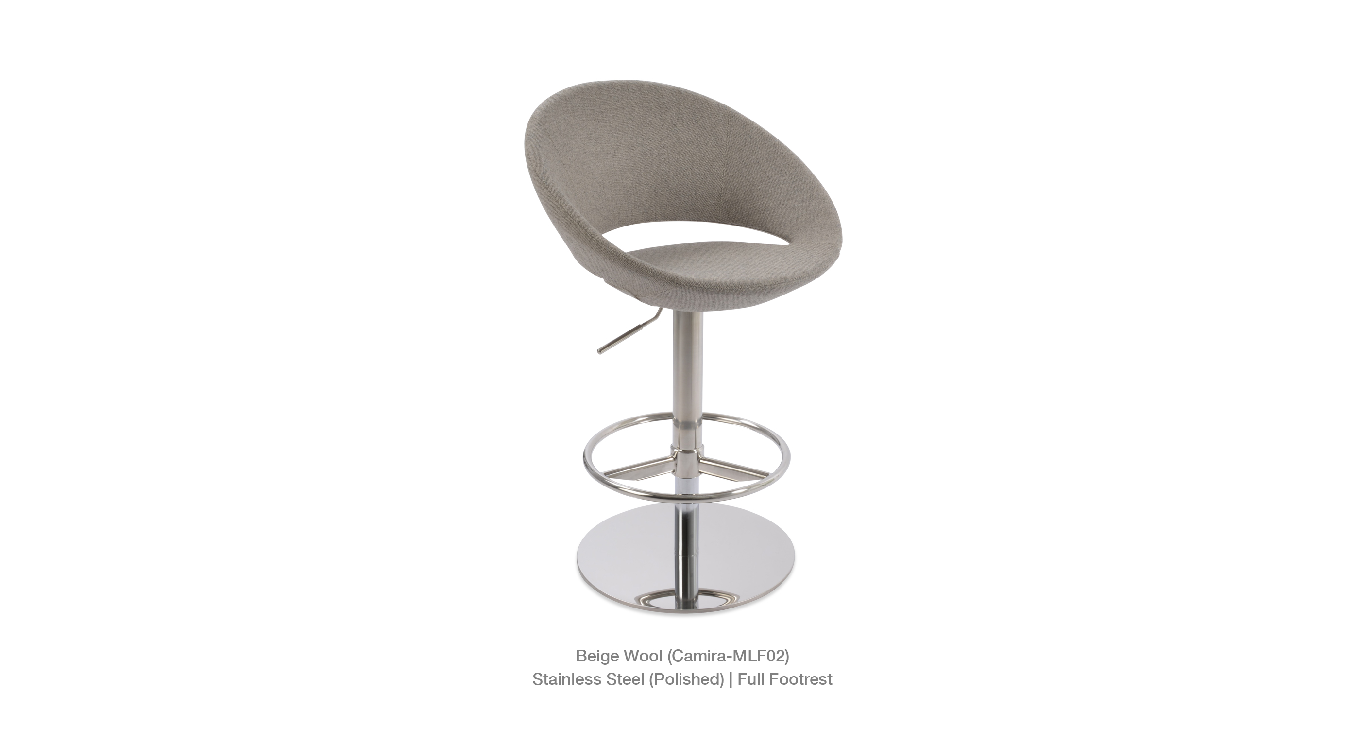 Crescent Piston Beige Camira