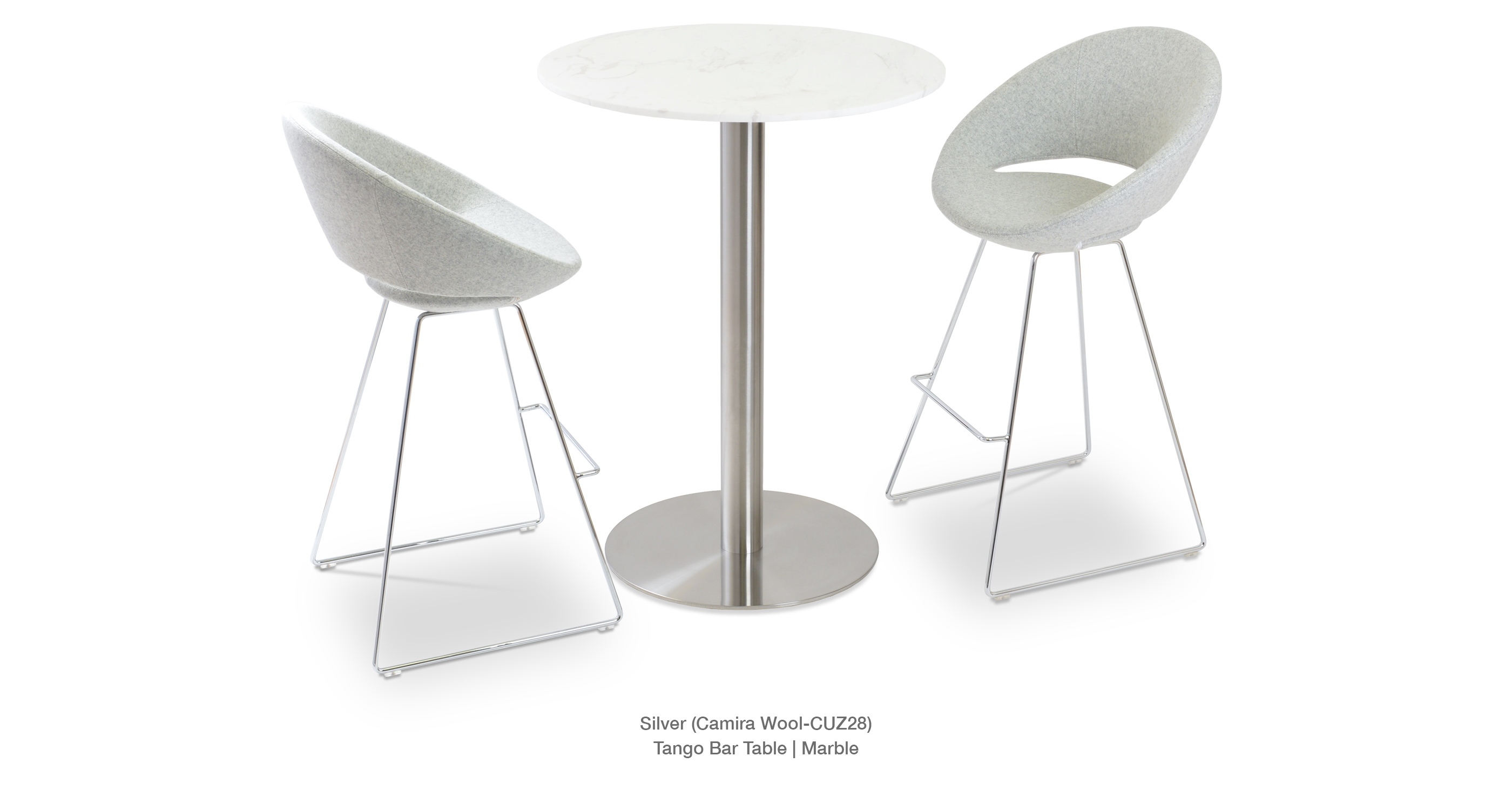 Crescent Wire Stool   Tango Bar