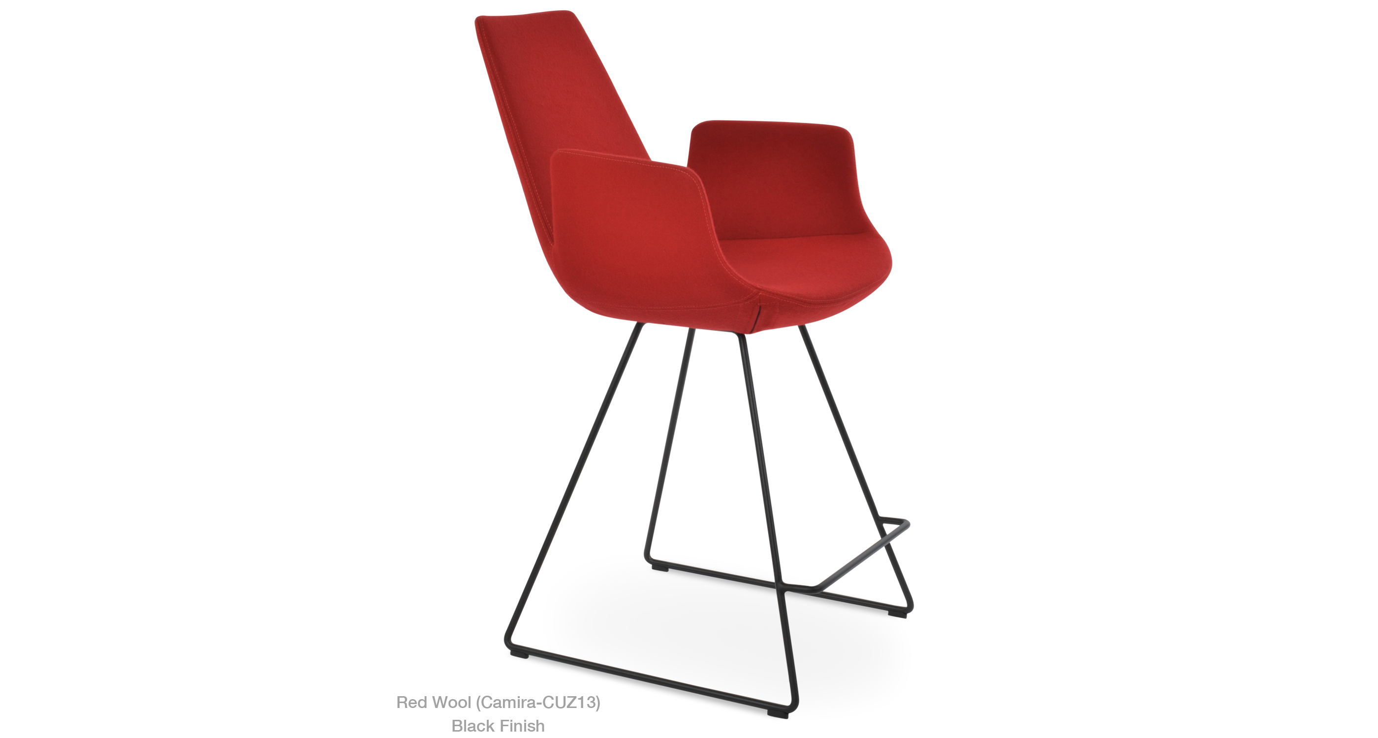 2020 03 05 Eiffel Arm Wire Camira Red