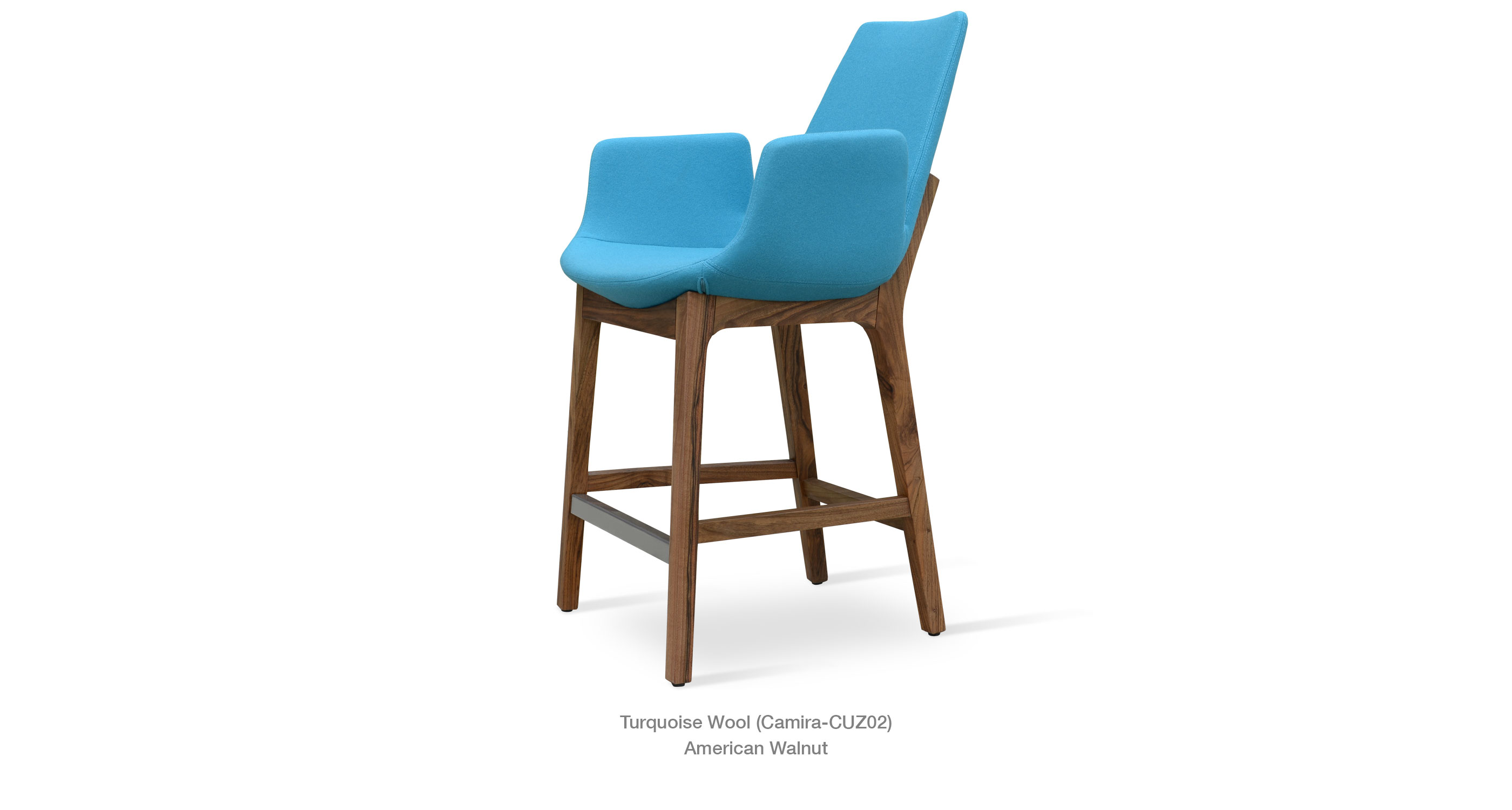Eiffel Wood Arm | Contemporary Stool Chairs | sohoConcept