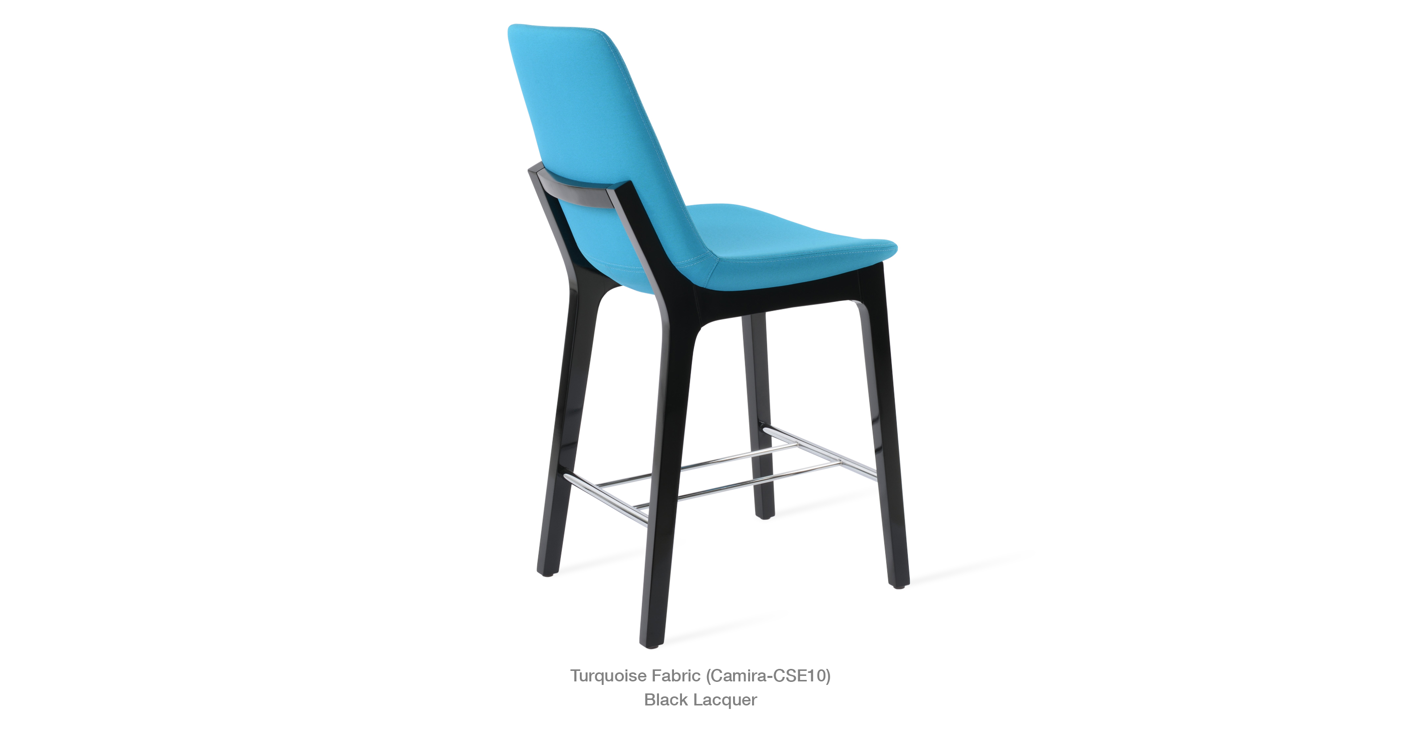 turquoise camira - black lacquer