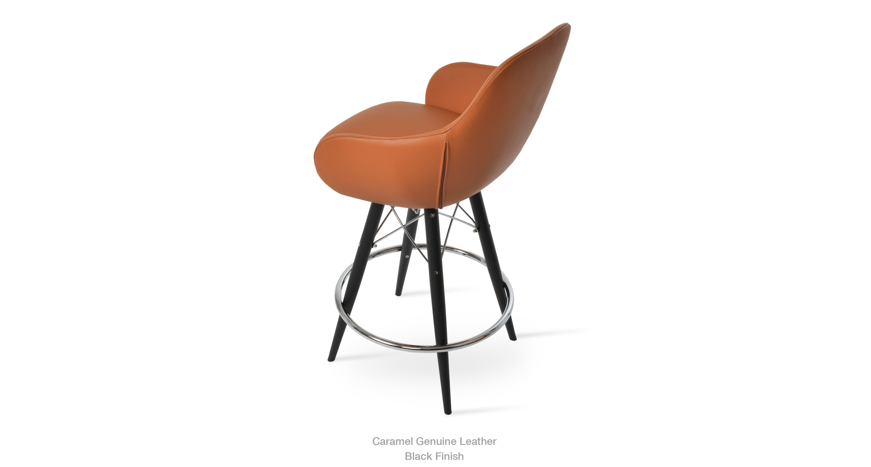 12 11 20 Gazel Arm Mw Stool Caramel