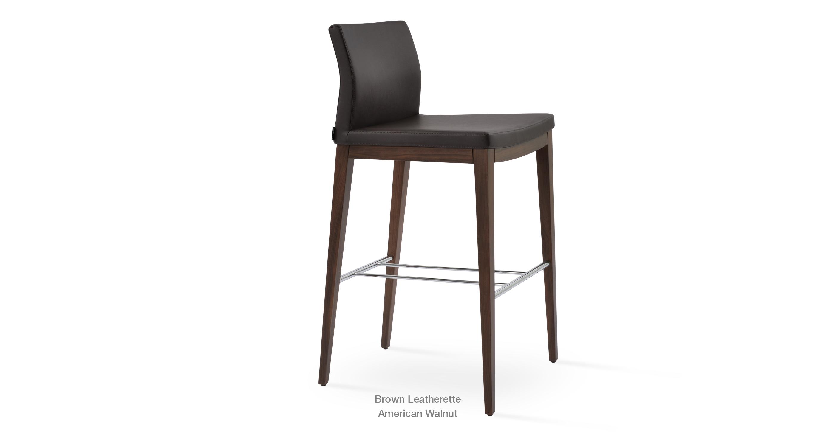 Superb Pasha Wood Ergonomic Bar Counter Stools Sohoconcept Inzonedesignstudio Interior Chair Design Inzonedesignstudiocom