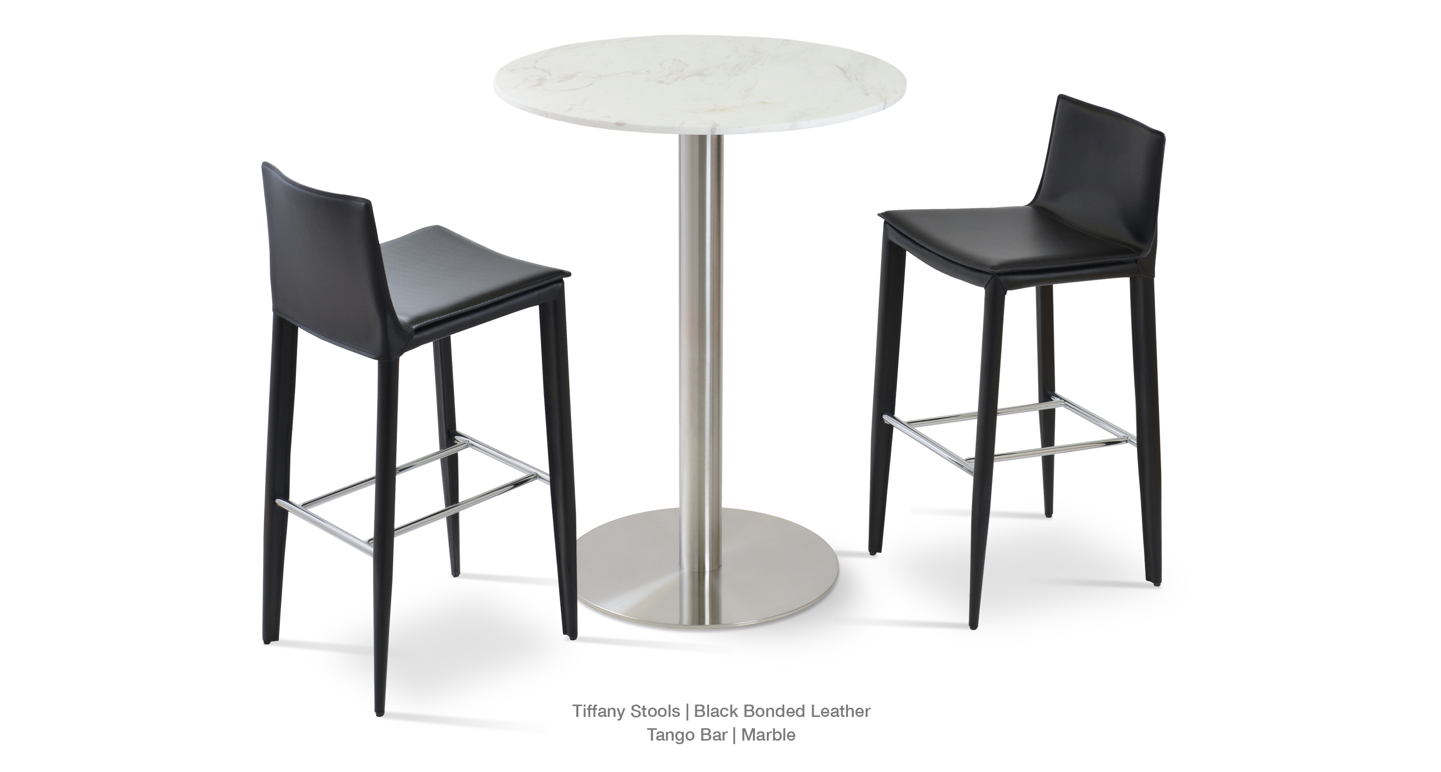 Tiffany Stool Black Tango Bar
