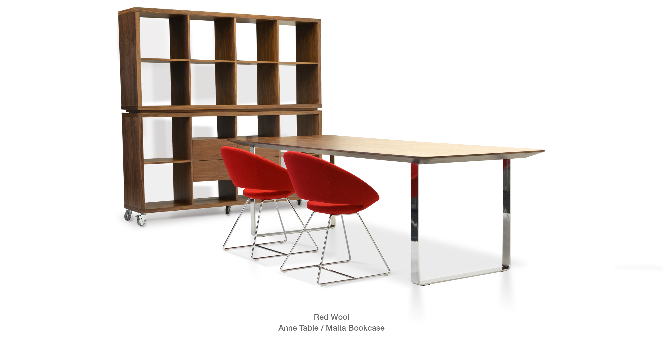 Malta Modern Bookcase Furniture Sohoconcept
