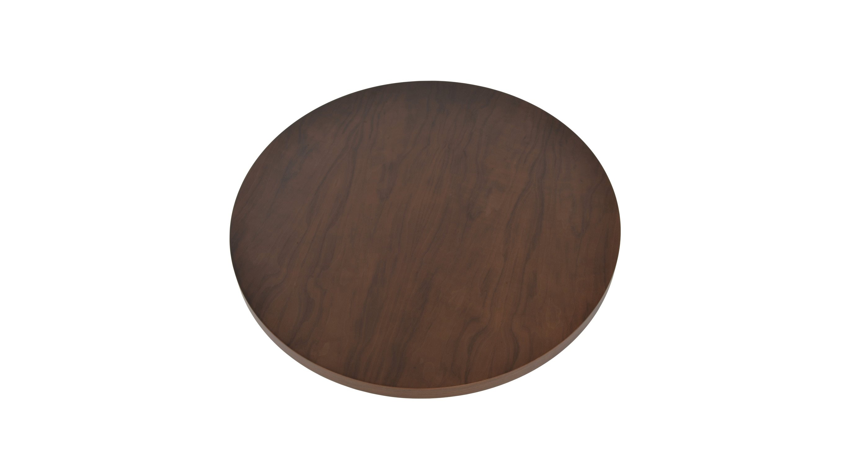 Wood Veneer Walnut Top Tickside 35
