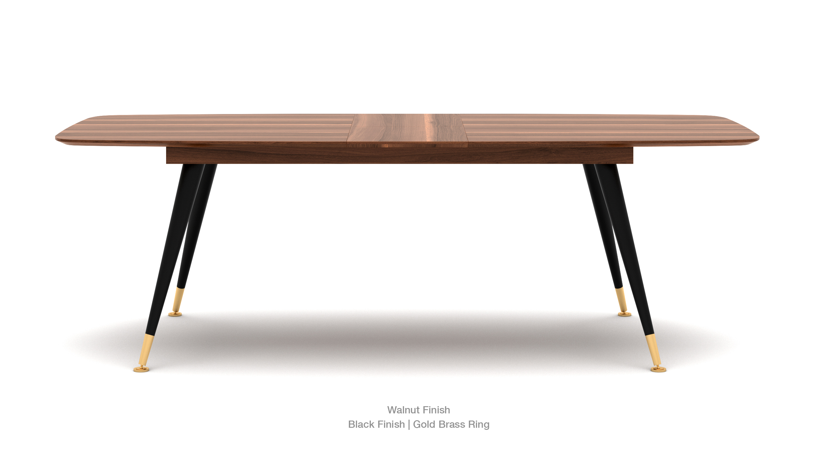 Ana Extendable Table Walnut