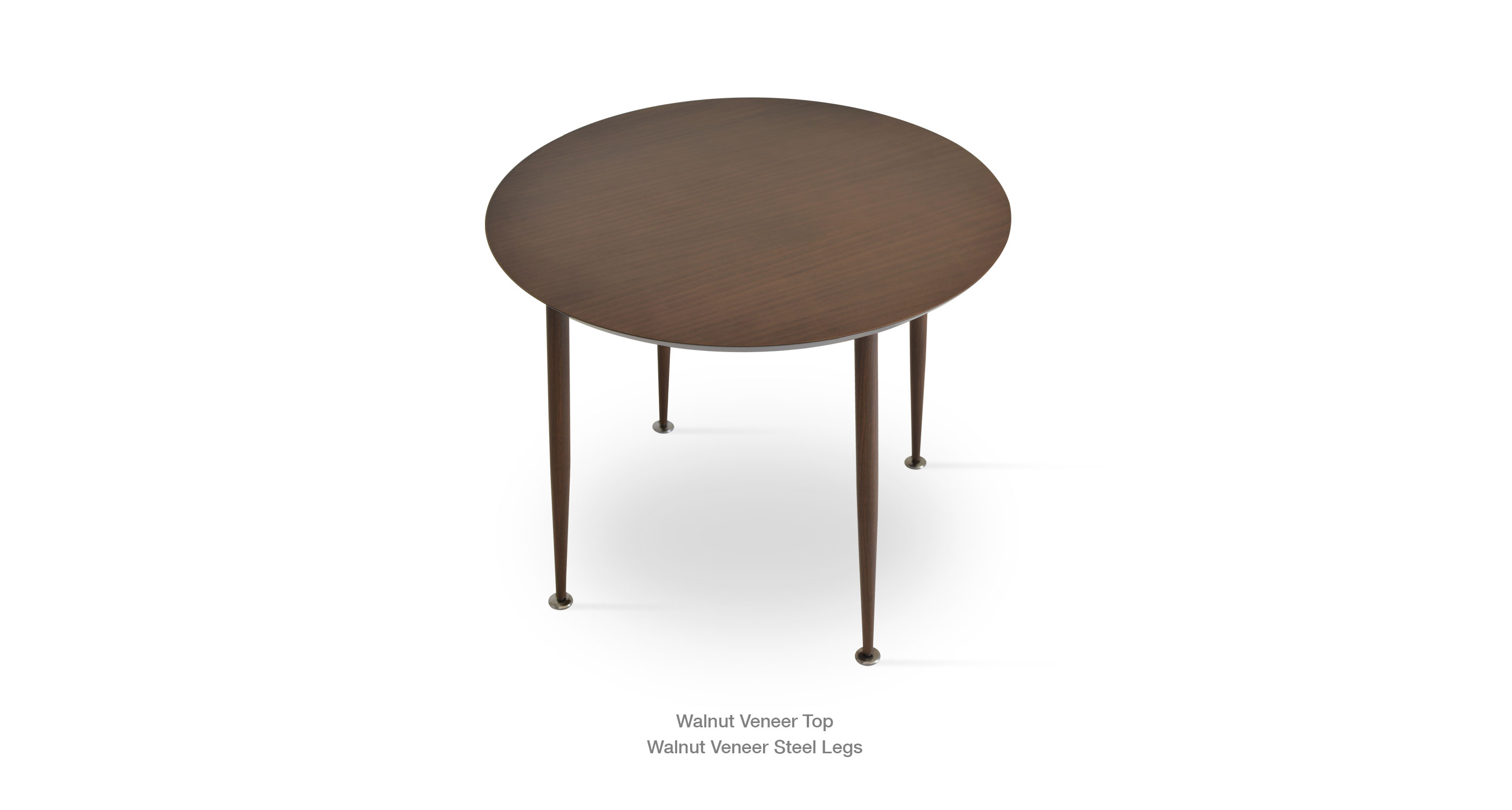 Star Dining Table Walnut Finish