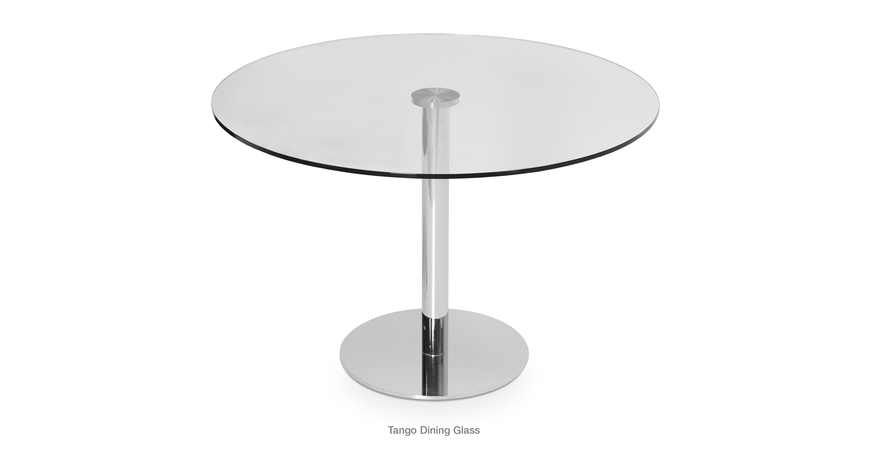 glass top dining