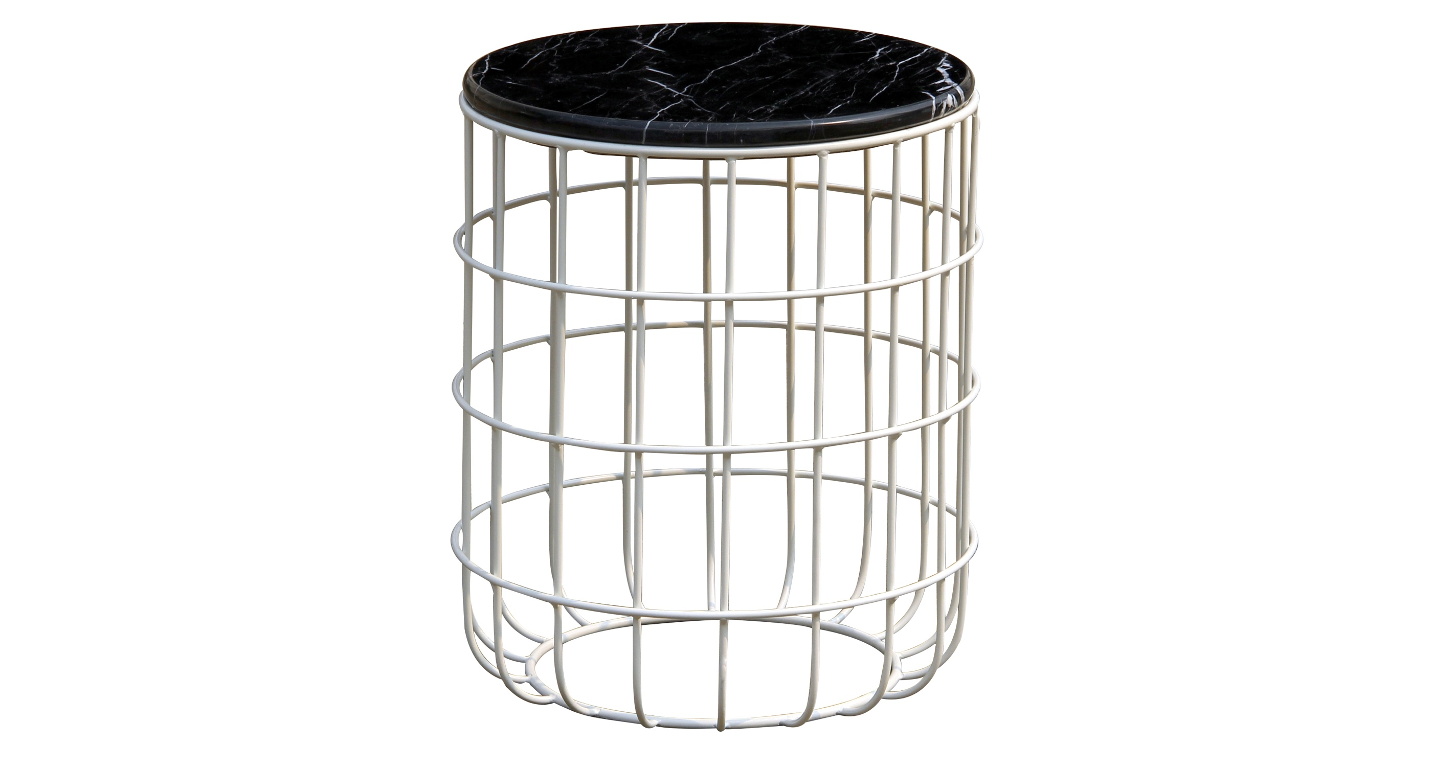 Violetta End Table Marble 1