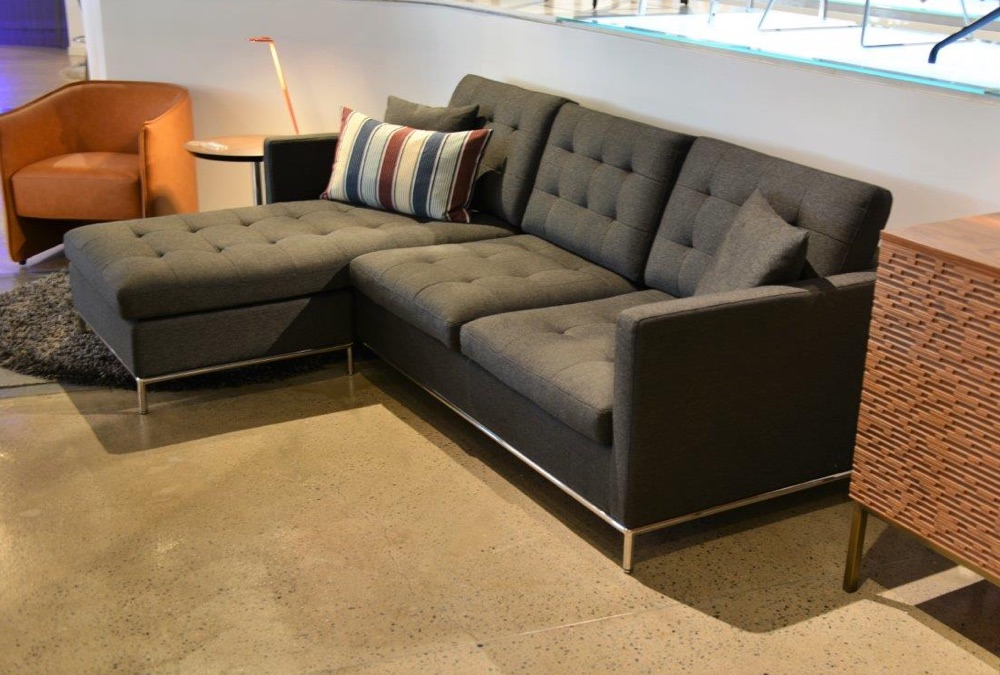 Taxim Sectional & Conrad Chair | Pera Design, Paramus NJ