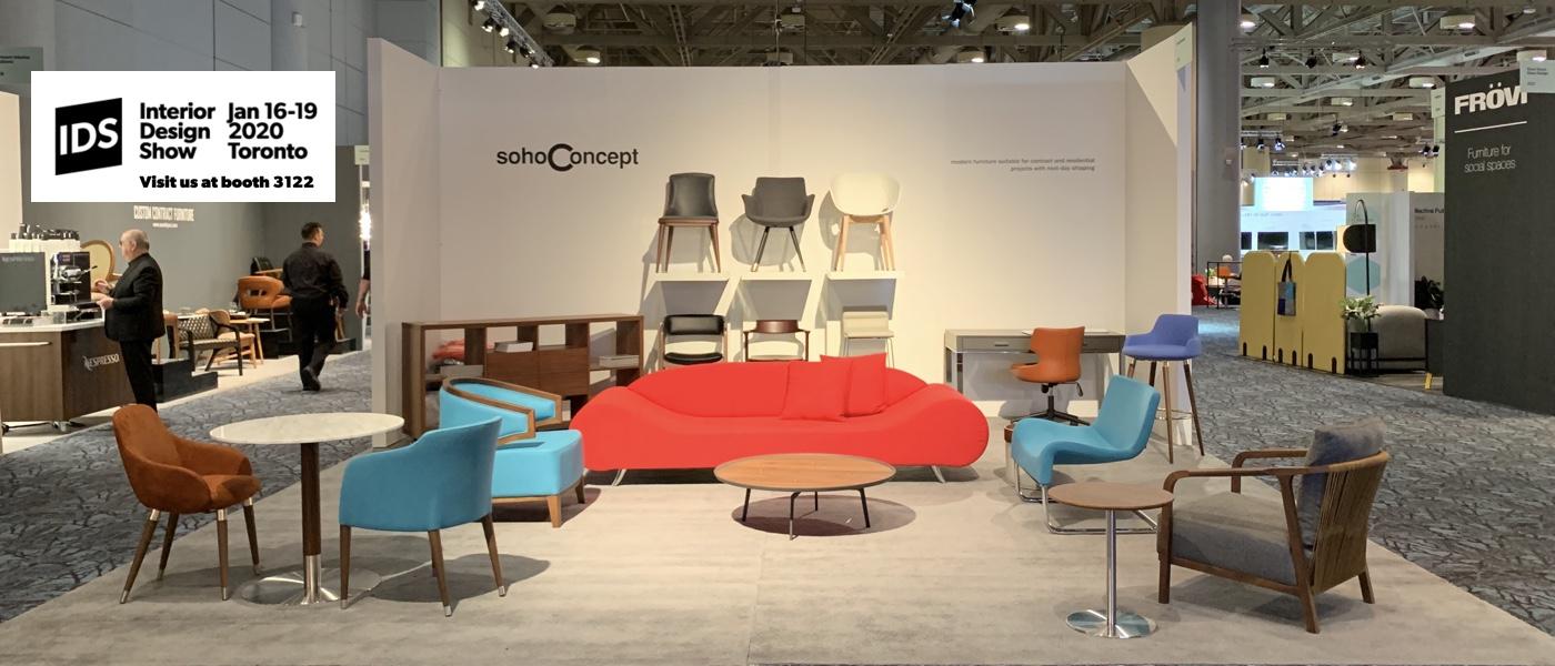sohoConcept at the Interior Design Show 2020