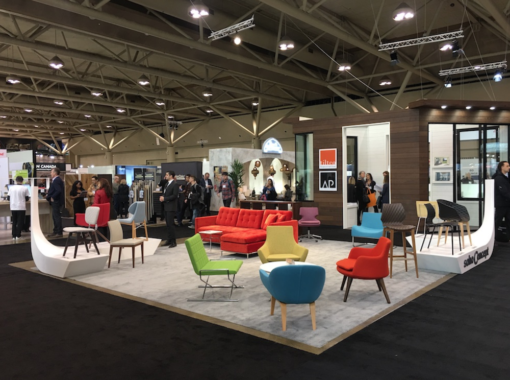 Modern Furniture and Design at the Interior Design Show 2019 in Toronto